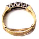 gold ring guard small